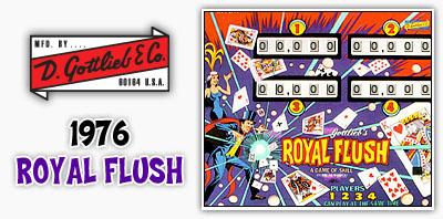 Gottlieb Royal Flush