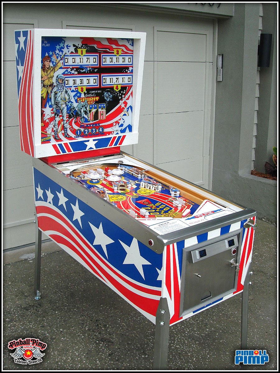 1976 Gottlieb Spirit Of 76 Pinball Pimp